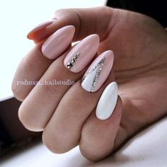 Nail Design Ideas - Photos, Videos, Lessons, Manicure - Nagellack - Herrlich Hair and Nail-Ideen Love Nails, Pink Nails, My Nails, Pink White Nails, Crazy Nails, Fancy Nails, Fabulous Nails, Perfect Nails, Nagel Blog