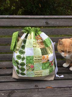 Anette L syr och skapar: Bersåpåse och en katt