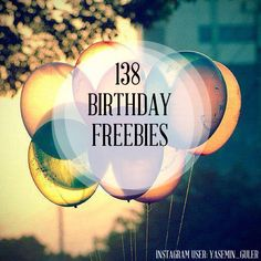 Your birthday is a special day, and what better way to celebrate your birth than to spoil yourself with freebies? Here is a list of birthday freebies you should totally take advantage of: Ways To Save Money, Money Saving Tips, Birthday Freebies, It's Your Birthday, Free Birthday, Happy Birthday, Money Matters, Things To Know, Life Hacks