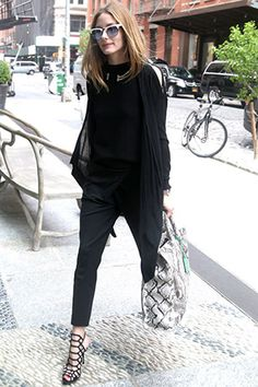 c22281fe974a Olivia Palermo is seen walking into the Crosby Hotel in New York City on  June 3