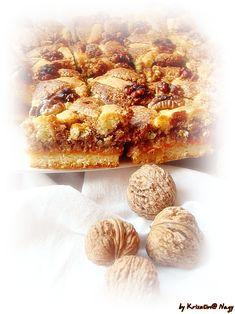 A Mágnás diós pite az egyik kedvenc sütim.Mindig is rajongtam a diós sütikért,de ez a házi sárgabarack lekváros dióhabos csoda különösen ked... Cereal, Muffin, Cooking Recipes, Breakfast, Cakes, God, Morning Coffee, Muffins, Cooker Recipes