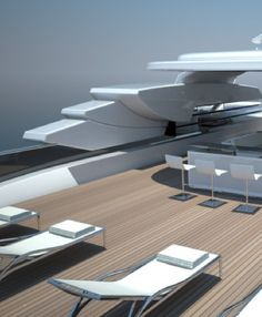 Sundeck, Touch 60 yacht project by Newcruise _