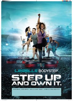 Using a height-adjustable step and simple movements on, over and around the step, BODYSTEP® delivers huge motivation. BEST WORKOUT #lesmills