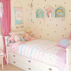 55 Pink Bedroom Ideas for Toddler girls You Are Looking For Toddler Girl Bedroom Bedroom bedroomdes girls Ideas pink toddler