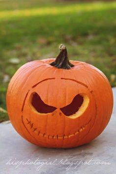 #Pumpkin #carving #JackSkellington
