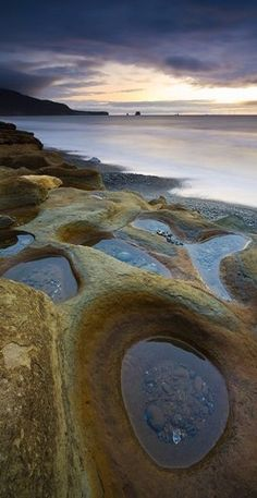 Circles in the Sand…West Coast South Island, NZ