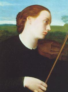 La violiniste by Alphonse Legros