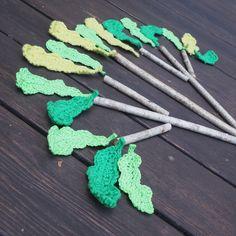 Oak Leaves, Turquoise Necklace, Crochet Necklace, Objects, Jewelry, Jewlery, Oak Leaf Cluster, Jewerly, Schmuck