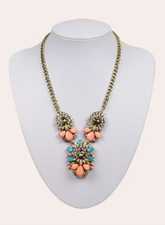 Paige Necklace in Multi