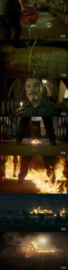 "SERIOUS PLOT PROBLEMS .... Daniels instantaneous descent into madness Fear the Walking Dead' season 2, episode 7 ""Shiva"""