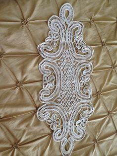 Handmade Romanian Point Lace Macrame