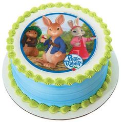 Peter Rabbit Edible Image Cake Topper *** Details can be found by clicking on the image.(This is an Amazon affiliate link and I receive a commission for the sales)