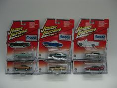 Johnny Lightning Lot of 6 Mopar or No Car Release 9 Complete! Dodge Plymouth NEW #RC2