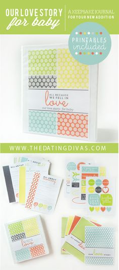 This is the best baby book ever! I'm making one for myself and one for all the Mamas I know! Can't wait to make one for a baby shower gift! Baby Love, Baby Baby, Best Baby Book, Baby Shower Gifts, Baby Gifts, Baby Album, Dating Divas, Baby Memories, Everything Baby