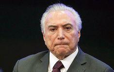 "Hospitalizan al presidente de Brasil luego de ""sentirse mal"""
