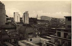 Anos 40 foi um RIO que passou » Blog Archive » Parcial do Centro, visto da cobertura do prédio da ABI, anos 40