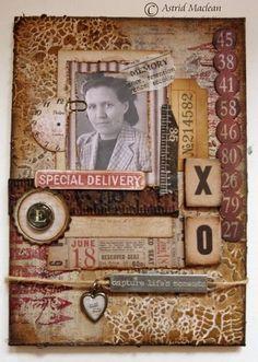 Astrid's Artistic Efforts: Fond Memories for A Vintage Journey