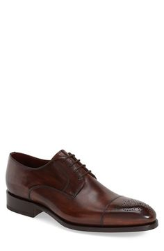 Magnanni 'Lalin' Water Resistant Cap Toe Oxford (Men)