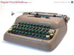 Smith Corona Silent Typewriter | Love Actually Typewriter