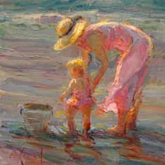 Современный американский импрессионист. Diane Leonard