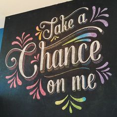 Take A Chance On Me — Lauren Hom