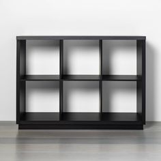 6 Cube Storage Organizer With Faux Stone Surface Top Black - Threshold™ : Target Cube Shelves, Cube Storage, Storage Shelves, Storage Organization, Storage Spaces, Shelving, Storage Ideas, Organizing, 6 Cube Organizer