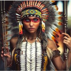 Indian Headdress For Sale | Shop the feather headdress online at IndianHeaddress.com – Indian Headdress - Novum Crafts
