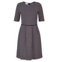 Blue Ellie Jersey Dress | Casual Dresses | Dresses | Hobbs