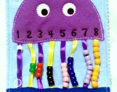 Calme livre apprentissage chiffres - occupés livre jouet préscolaire de - jouet d'apprentissage enfant - cadeau éducatif - livre d'éveil église - - #QB54