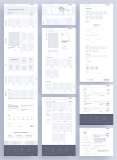 Website & App Wireframe Examples For Creating a Solid UX Design - Website & App Wireframe Examples For Creating a Solid UX Design - Minimal Web Design, Web Design Grid, Web Design Mobile, Design Ios, Modern Web Design, Web Design Tips, Web Design Tutorials, Web Design Trends, Flat Design