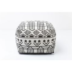 With an effective monochrome palette emphasising its striking geometric design, the Tippi pouf's distinctive aesthetic adds endless character and comfort to any living space. wool, coloured and woven. Room Decorations, Decorative Accessories, Monochrome, Living Spaces, Palette, Wool, Character, Furniture, Collection