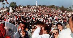 100.000 PERSONAS 1983 EN PEÑA BLANCA - CHILE