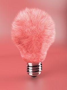 furry lightbulb
