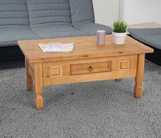 Details Zu Vintage Holz Couchtisch Loft Zimmer Kaffeetisch Sofa Tisch Schublade Mbel Neu