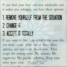 Your here and now...Eckhart Tolle
