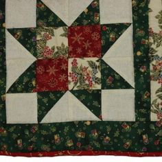 A Table-mat and Coaster Project for the Christmas Season Quilting Patterns, A Table, Coasters, Seasons, Quilts, Blanket, Stars, Rugs, Easy