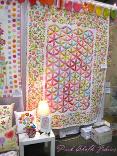 Quilt Market Spring 2012 - Jessie Quilt from Don't Look Now.  Photo by pink chalk studio, via Flickr.