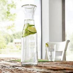 Wasserkaraffe, Glas Carafe, Form, Products, Lemonade, Dinner Table, Tablewares, Figurine, Decanter, Gadget
