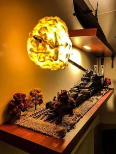 Well, if you like that, it& cool- Naja wenn man auf sowas steht, ist es cool Nice lamp - Model Hobbies, Model Tanks, Military Modelling, Toy Soldiers, Model Ships, Art Model, Model Building, Plastic Models, Scale Models