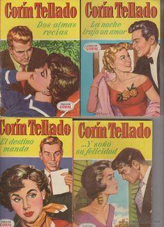 NOVELAS CORIN TELLADO AÑOS 50, LOTE - Recherche Google