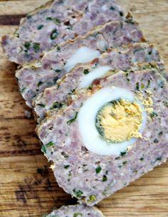 Klops z jajkiem - 365 dni dookoła kuchni Polish Recipes, Polish Food, Great Recipes, Eggs, Keto, Breakfast, Impreza, Harley Davidson, Thermomix