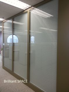 Glass System Wall 怡和大廈 (厚框雙層清玻璃屏風-內置百葉 Double Clear Glass Panel with blind) 11
