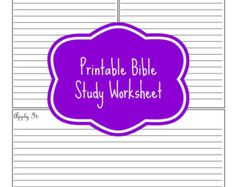 Editable Bible Journalling Planner Kit by DigiScrapDelights