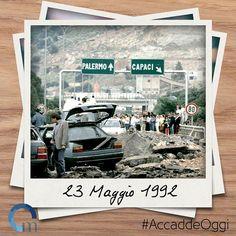 #23maggio 1992: strage di #Capaci