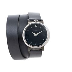 Black woman triple strap watch with silvery case Parisian, Black Women, Fashion Accessories, Watches, Woman, Luxury, Classic, Black Bracelets, Watch