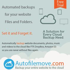 Never lose data again with our automatic website backup
