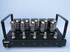 Projet 13 - Amplificateur à tubes 6L6GC - SACD et Home Cinema - 5x24 Weff