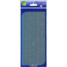 Glitter Dots Assorti Peel-Off Stickers-Turquoise