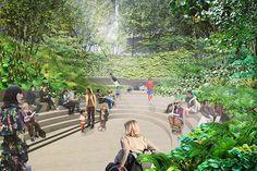 """Résultat de recherche d'images pour """"espace public échangeur vertical végétalise"""""""
