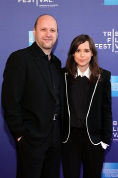 Ellen Page and David Cage at event of Beyond: Two Souls (2013)